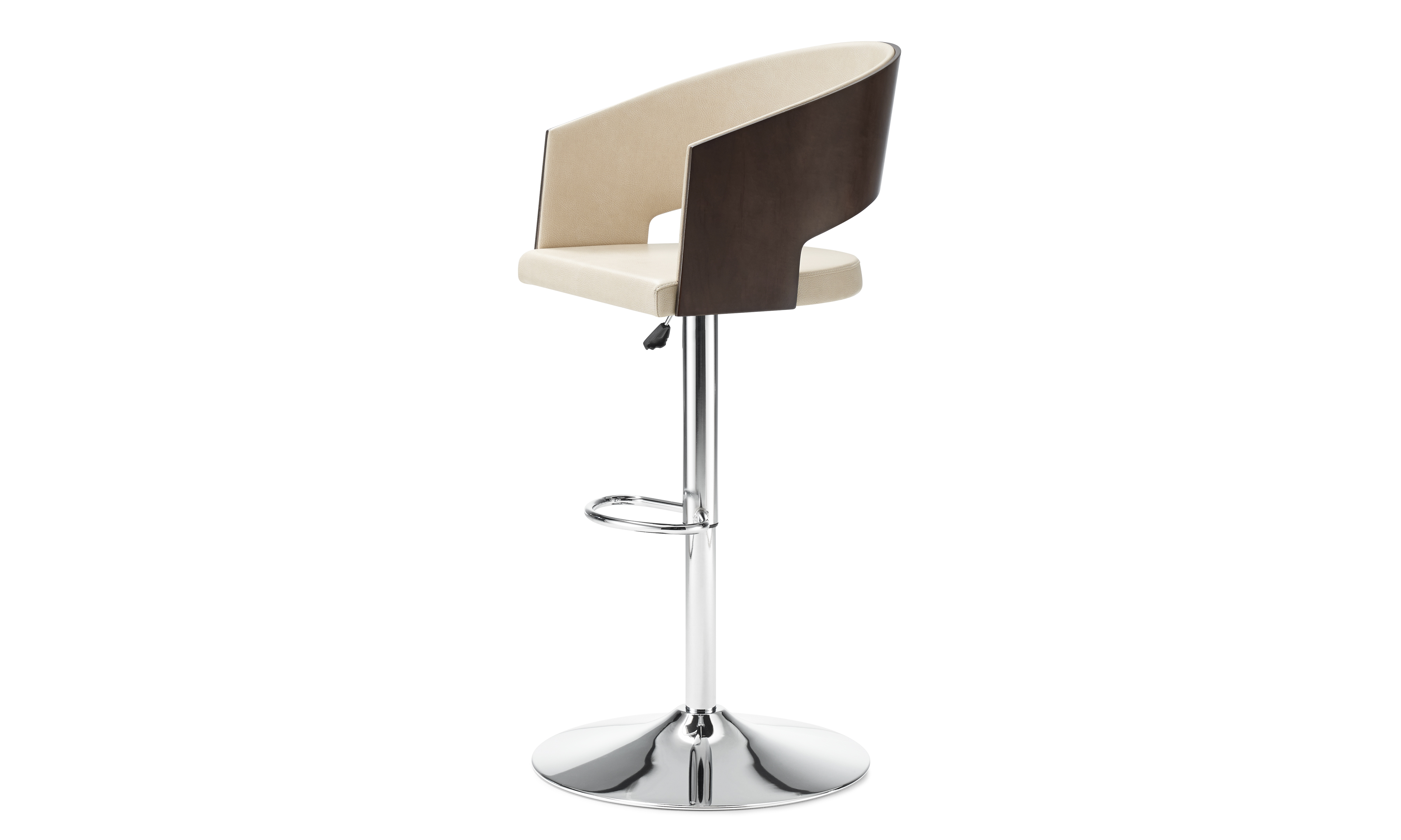 Source international products font stacking - Axis Botte Stool Chrome Wood 3 4 Jpg