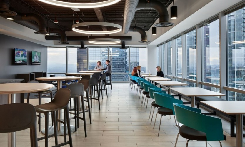 Corporate Cafe—Bøtte Chairs
