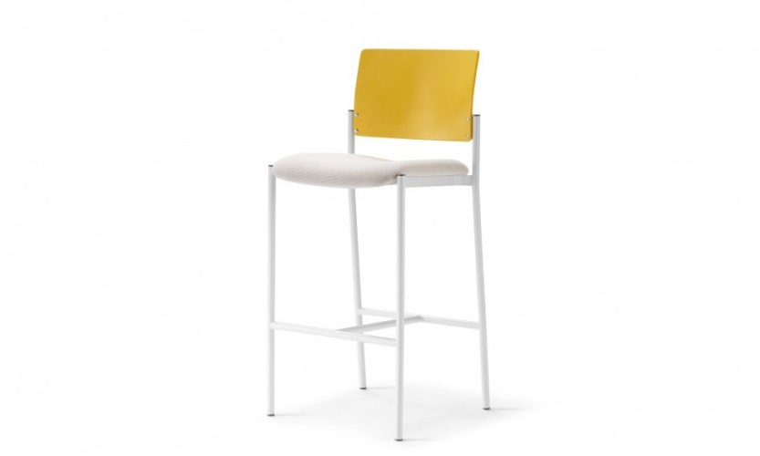 Cache Stool Wd Yl Uph Wht 3.4