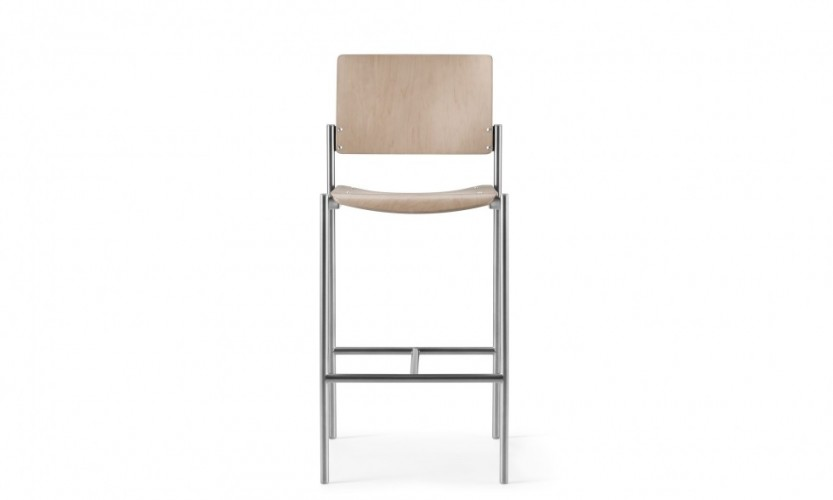 Cache Str Stool Wd Wd W Lt Gmtl Front