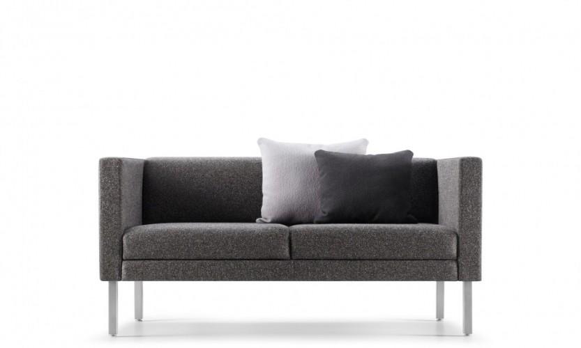Lore High Arm Two Seat Sofa