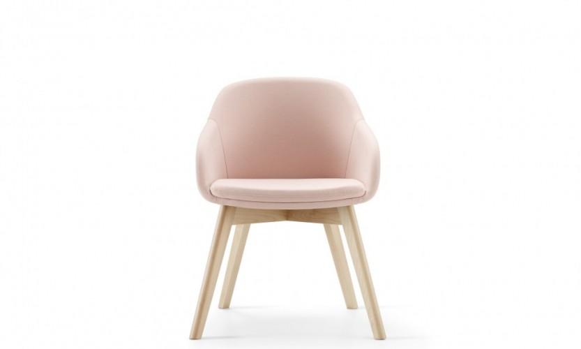 Martini Wood Leg FB Pink Front FB