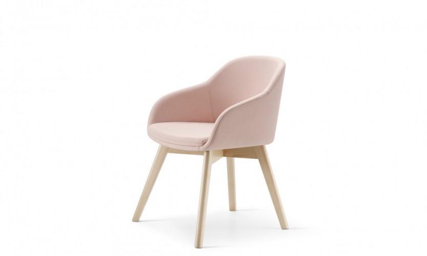 Martini Wood Leg FB Pink 3.4