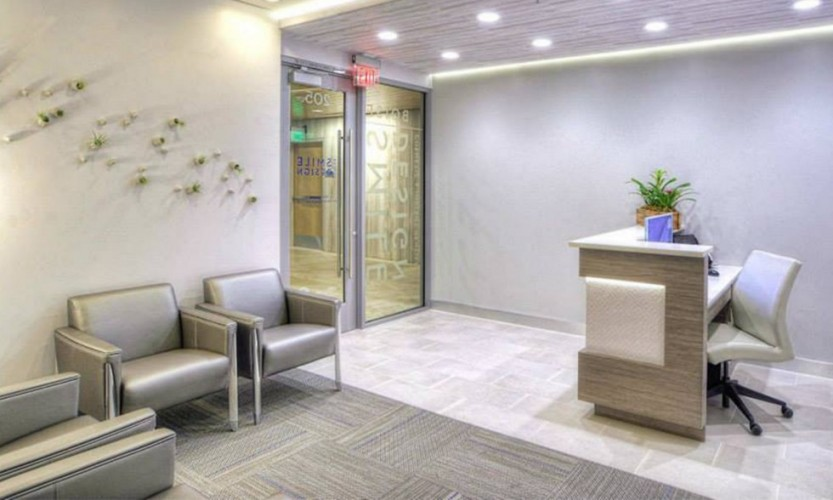 Reveal Clever Reception Area