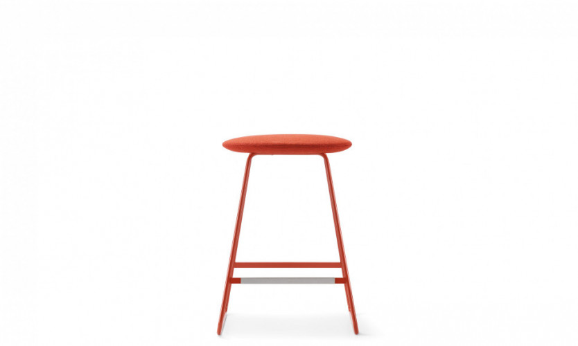 Tempt Stool 24 Rd Front SG