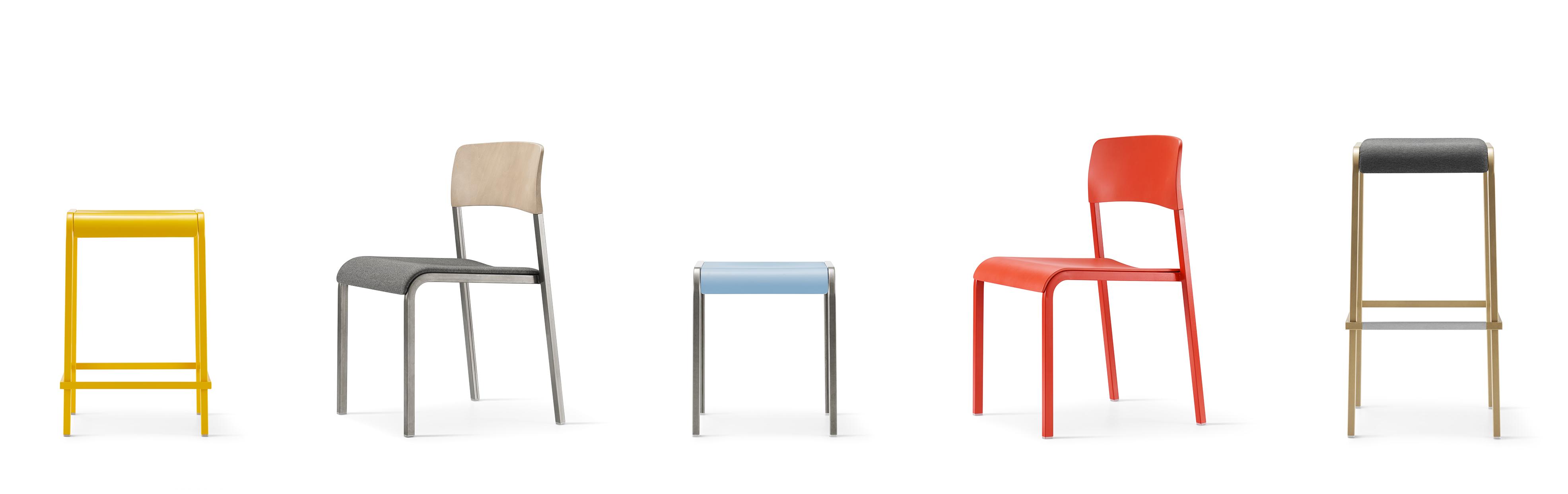 Viiva Chairs Stools