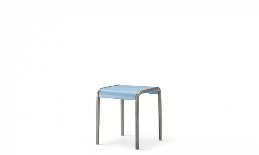 Viiva Stool or table 18 Lt Bl Gmtl 3.4