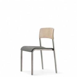 Viiva Chair WLt Uph Gmtl 3.4