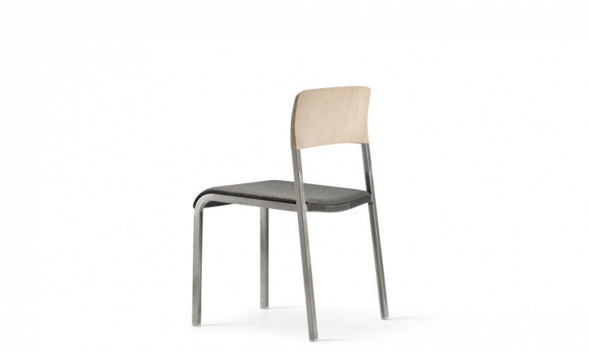 Viiva Chair Wlt Uph Gmtl 3.4 Back