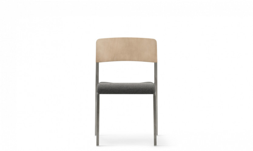 Viiva Chair WLt Uph Gmtl Front